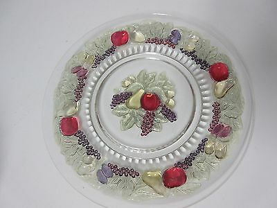 "Outstanding Della Robbia 9"" Plate / Sharp Colors / 8 Available / Westmoreland Co"