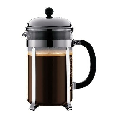 Bodum Chambord Coffee Maker French Press Cafetiere 1.5L 51Oz 12 Cup **50% Off**