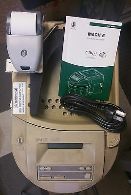 Glory Mach 5 Brandt Coin Sorter on Wheels + Printer Great Condition Factory Refu
