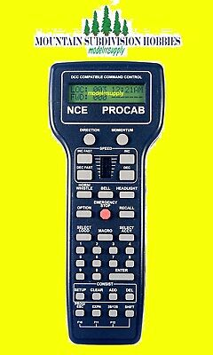 NCE 11 Procab-R Deluxe Master Cab Radio Equipped (Wireless) 524-11 MODELRRSUPPLY