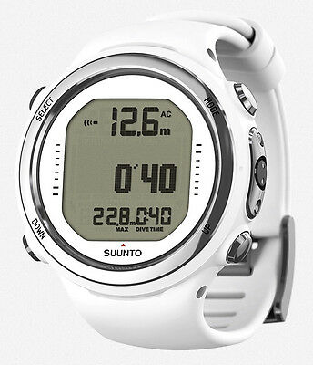 Suunto D4i Novo weiß Tauchcomputer, Taucheruhr + USB Interface