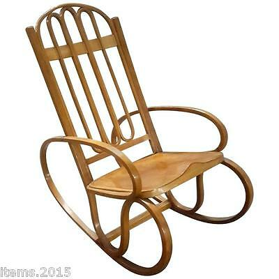 Gustav Siegel, Rocking Chair Circa 1900, Edition Khon