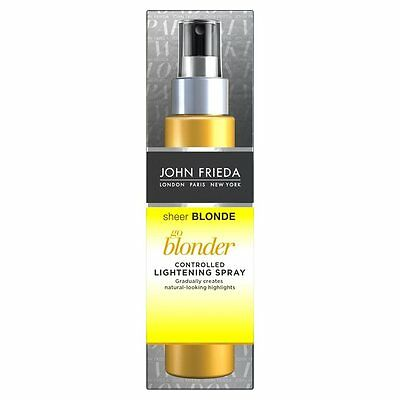 John Frieda Sheer Blonde Go Blonder Controlled Lightening Spray (100ml)