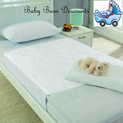 Playette Water Resistant Bed Pad Protector with Flaps