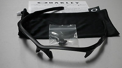 Oakley Half Jacket 2.0 Matte Black Sunglasses Frame & Bag Oo9154-46