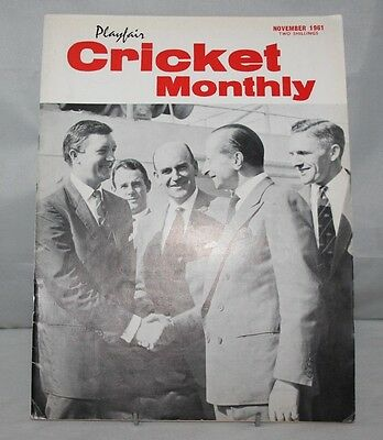 Playfair Cricket International - November 1961