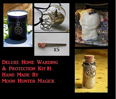 Deluxe Protection Home Warding Ritual Kit Spell Kit Ritual Pagan Wicca