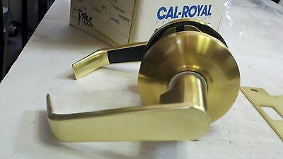 CAL-ROYAL SL-30 Cylindrical Lever Lock PASSAGE US4