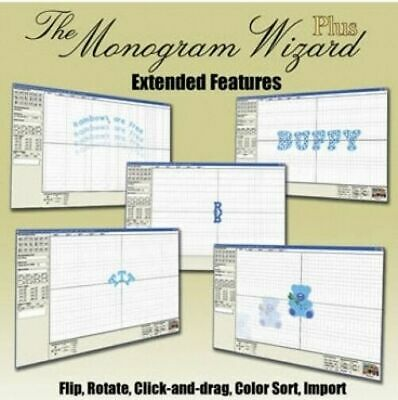 Monogram Wizard Plus Extended Features Software New