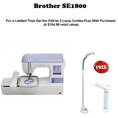 Brother SE1800 Sewing and Embroidery Machine + Bonus Kit New