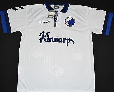 1997-1998 Fc Copenhagen Hummel Home Football Shirt (Size Xl) - Bnwt