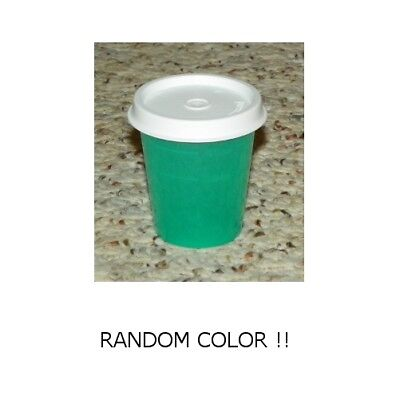 TUPPERWARE - 2oz Small Container w/ Lid (Salad Dressing Cup) - RANDOM COLOR !!