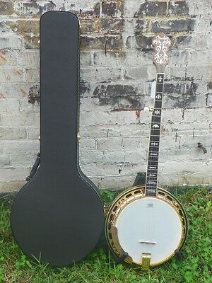 Fender FB59 FB-59 Resonator 5 String Banjo w/ Case  #1079