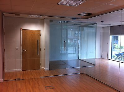 Glass Partitions and Glass Partition Doors - Full Kit - everything included