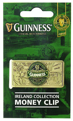 Guinness Collectors Edition 2016 & Ireland Money Clips - Official Merchandise