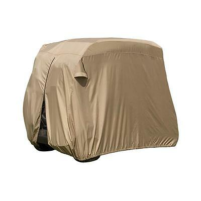 4-Person Golf Car Cart Cover, Weather Sun Dirt Storage Cover