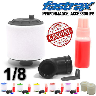 Fastrax 1/8th RC Car Nitro Air Filter + Oil Hobao Hyper 7 8.5 ss st HPI Savage