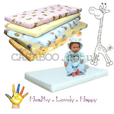MATTRESS for BABY COT /COT BED 120x60cm/ 140x70cm/ 90x40cmFOAM/COCONUT/BUCKWHEAT