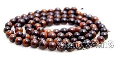 SALE small 4mm Red Round natural tiger's-eye gemstone Beads strand-los702