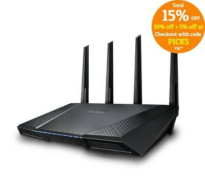 Asus RT-AC87U AC2400 Concurrent Dual Band Wireless GbE Gigabit Router