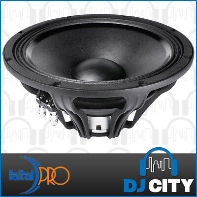 "Faital Pro 12FH520 12"" NEO High Power Woofer Mid-Bass Speaker 8ohm 1200W"