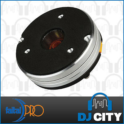 "Faital Pro HF108R 1"" Compression Horn Driver NEO 120W 109dB Tweeter Speaker"