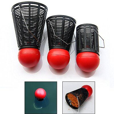 Outdoor Fishing Lure Holder Feeder Fishing Bait Lure Cage Fishing Tackle Trap