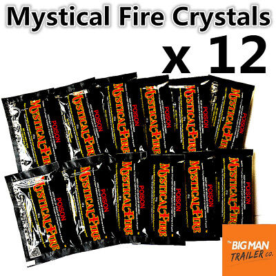 12x Mystical Fire Crystals Outdoor Camping Motorhome Colorful Caravan OSAMYST