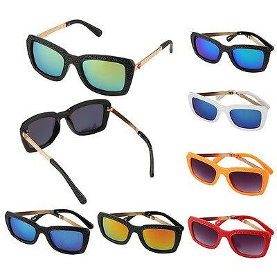 Boys Girls Rose Side Children Cool Sunglasses Metal Plastic Sunglasses AU