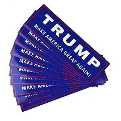 Donald Trump for President Make America Great Again Bumper Stickers - 10 Pack FW