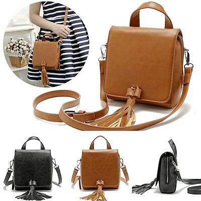 Women Fashion Hobo PU Leather Shoulder Bag Messenger Purse Satchel Tote Handbag