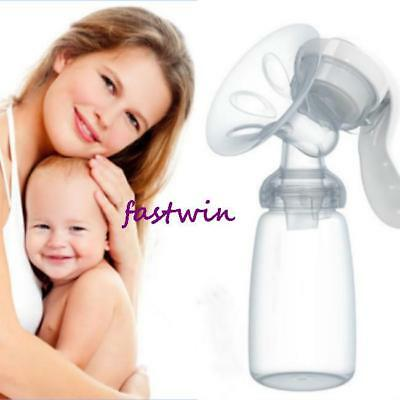 Handheld Manual Breast Pump Kit Hand Breast Pump & Breast Milk Storage Bottle FW