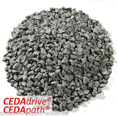 Black Basalt 14mm Aggregate Chippings mulching landscape Stone bulk or 25kg