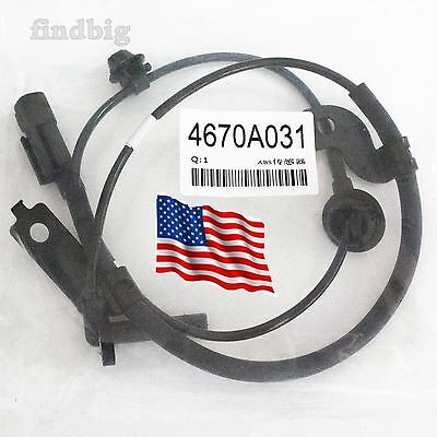 ABS Wheel Speed Sensor Front Left For Mitsubishi Lancer Outlander 4670-A031