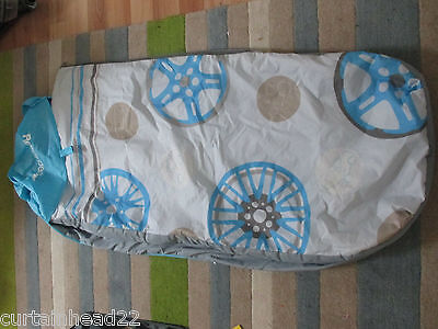 Ready Bed Cover Boys Blue And Grey