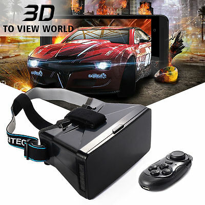 3D VR Box Glasses Virtual Reality Glasses + Controller for iPhone 6S AC261