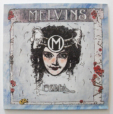 Melvins - Ozma (LP, Album, RE, Unofficial )  pink marbled vinyl
