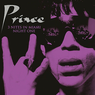 PRINCE - 3 Nites In Miami: NIGHT ONE, 7th June 1994. New 2LP + Sealed **NEW**