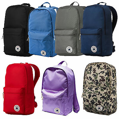 Converse Core Poly Backpack - New Shoulder Rucksack School Bag Carry Travel