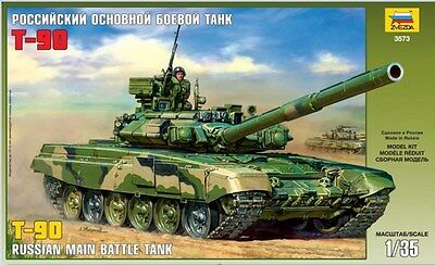 Zvezda 3573 RUSSIAN MAIN BATTLE TANK T-90 1/35
