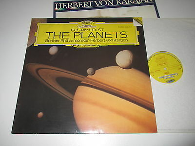LP/HOLST/THE PLANETS/KARAJAN/DG 2532019 + insert