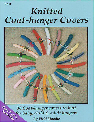 NEW Knitted Coat-Hanger Covers by Vickie Moodie