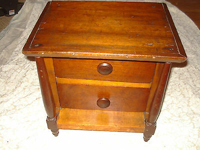 **SALE**Child's Two Drawer Empire Chest, C. 1800-1810