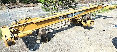 5 TON * Acco Wright GIRDER BRIDGE CRANE * 22' Wide with 10 TON HOIST (EXCELLENT)
