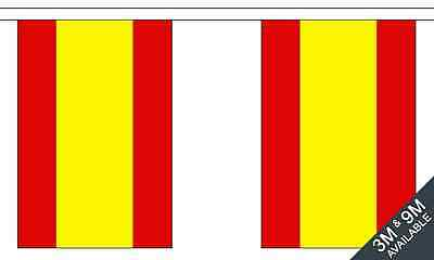 Spain Spanish No Crest Polyester Material Flag Flags Bunting Various Sizes