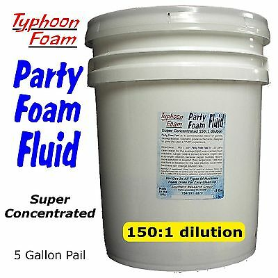 5 Gal. Party Foam Fluid for all types of foam party machines FREE SHIPPING