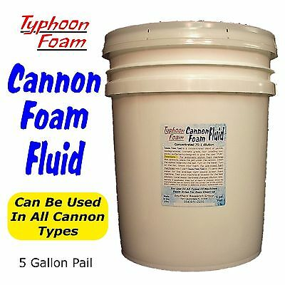 Cannon Foam Fluid for FOAM CANNONS and other foam machines FREE SHIPPING