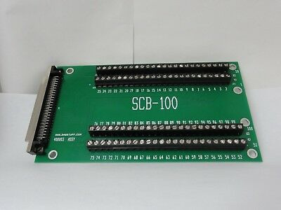 SCB-100 100 pin SCREW TERMINAL FOR NATIONAL INSTRUMENTS TEST FIXTURES SCB100