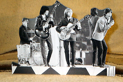 """The Rolling Stones 1960's Concert Rock & Roll Tabletop Standee 10"""" Long"""