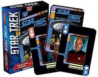 Official Licensed - Star Trek - Next Generation Playing Cards Poker Picard